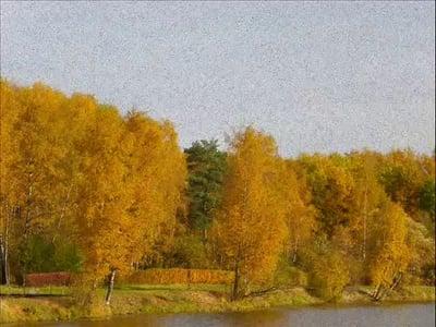 Описание осеннего пейзажа: сочинение по картине Левитана Золотая осень