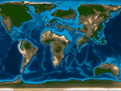 Что такое континент и сколько материков на Земле