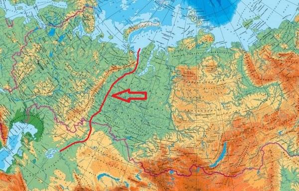 Изучаем уральские горы на карте России: полная характеристика и географическое положение