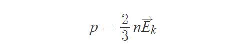 Формула давления газа в идеальных условиях