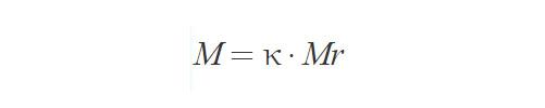 Формула молярной массы