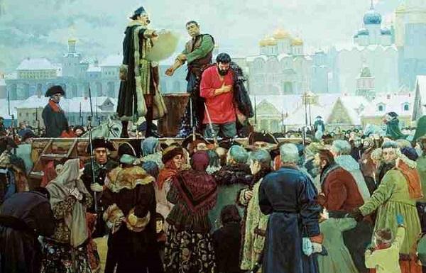 Казнь Пугачёва