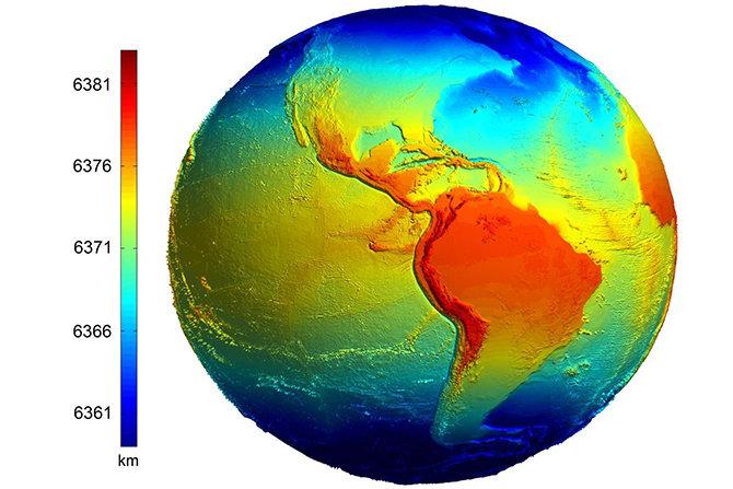 Какой радиус у Земли