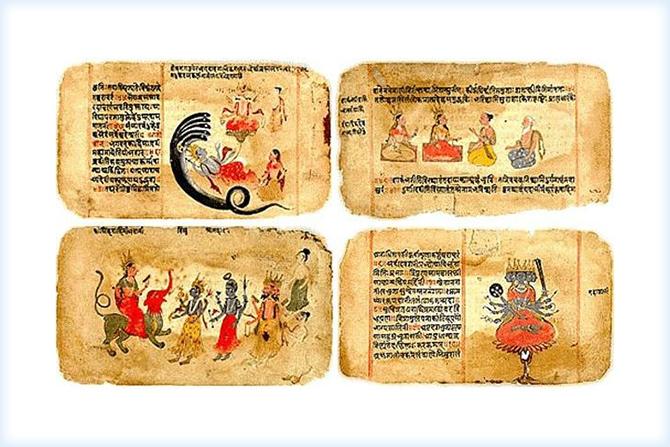 Индийская письменность