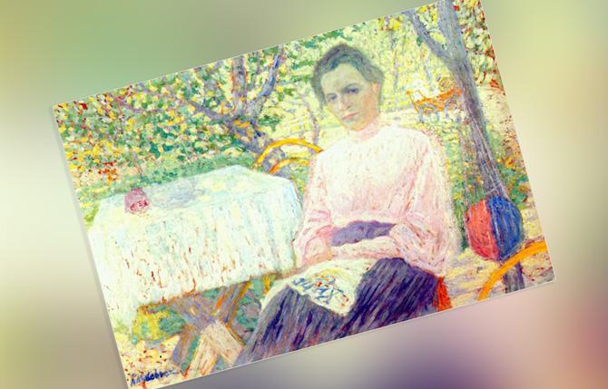 Малевич Портрет члена семьи художника