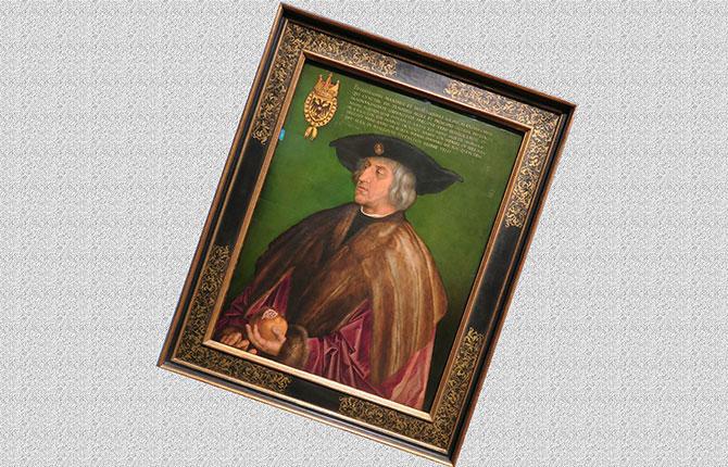 Знаменитый портрет Максимилиана I
