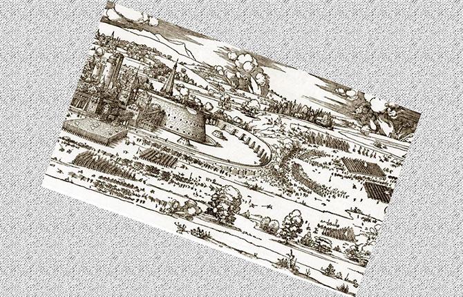 Иллюстрация из наставления по фортификации