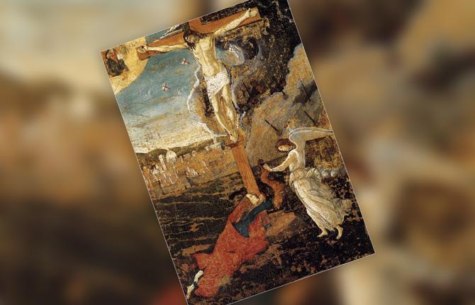 Сандро Боттичелли «Мистическое распятие»