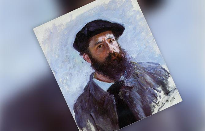 Клод Моне Автопортрет. 1886 г.