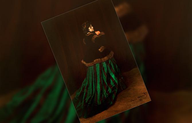 «Камилла, или дама в зеленом платье»