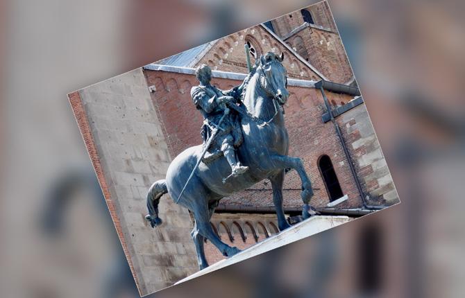 Конный памятник «Гаттамелате»