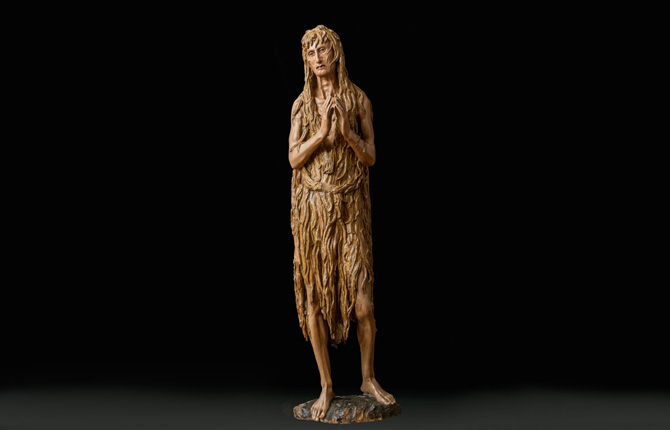 Донателло Статуя Магдалины