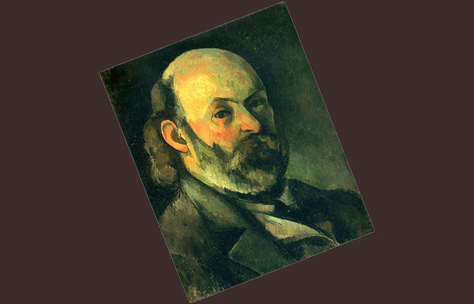 Французский художник Поль Сезанн