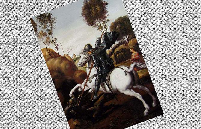 Битва св. Георгия с драконом