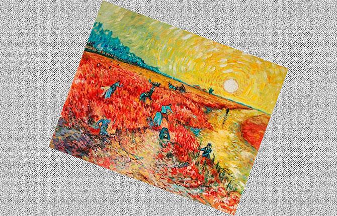 Работа Винсента Ван Гога