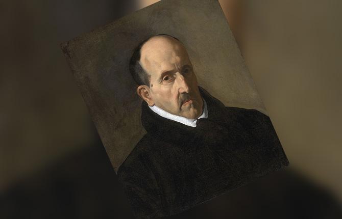 Портрет Луиса де Гонгоры. 1622 г.