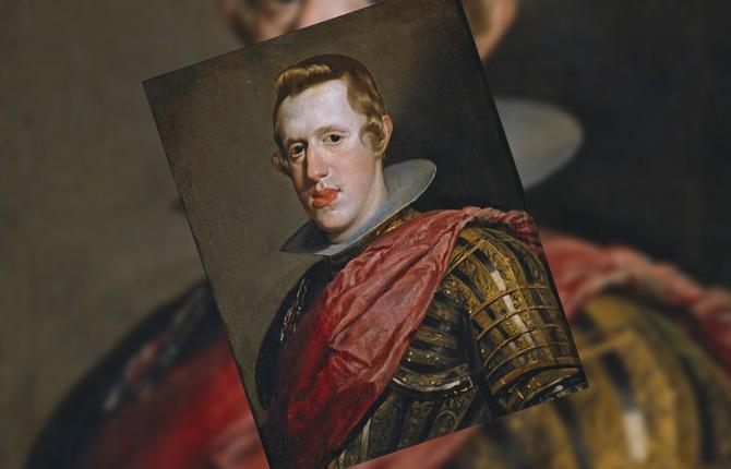 Портрет Филиппа IV в латах. 1626-1628 гг.