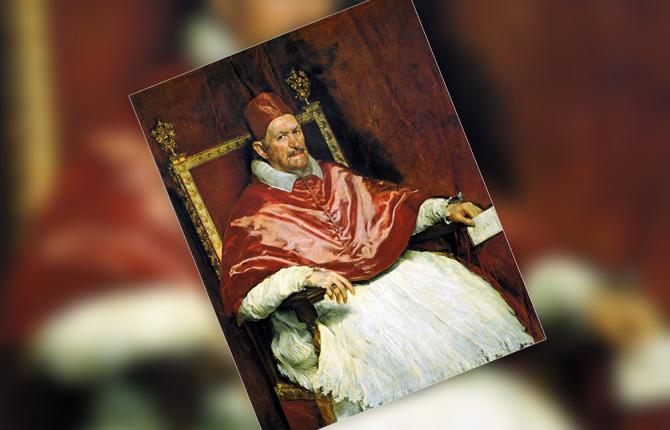 Портрет папы Иннокентия Х. 1650 г.