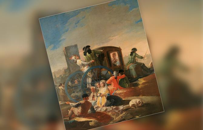 Франсиско Гойя Продавец посуды, 1779 г.