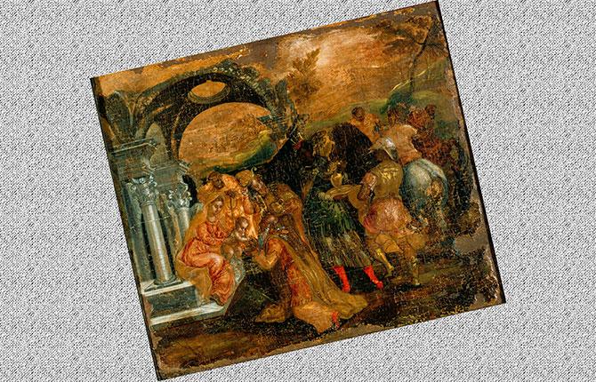 Эль Греко Поклонение волхвов