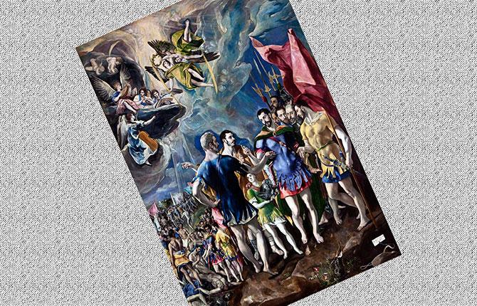 Мученичество святого Маврикия, 1580-1582 гг.
