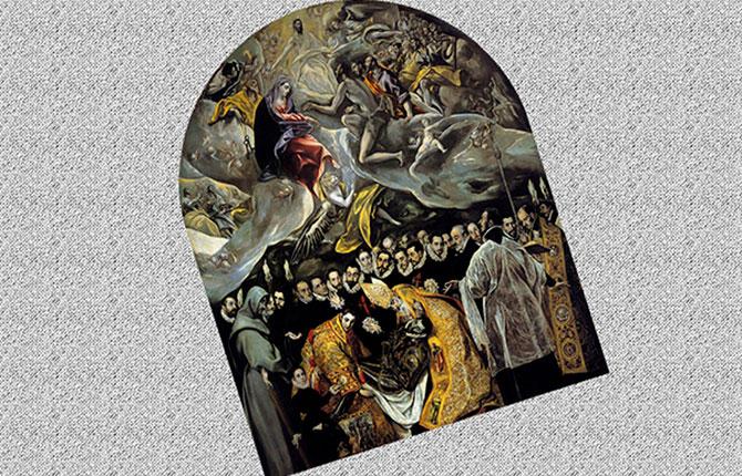 Эль Греко Погребение графа Оргаса