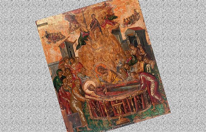 Эль Греко Успение Богородицы, до 1567 г.