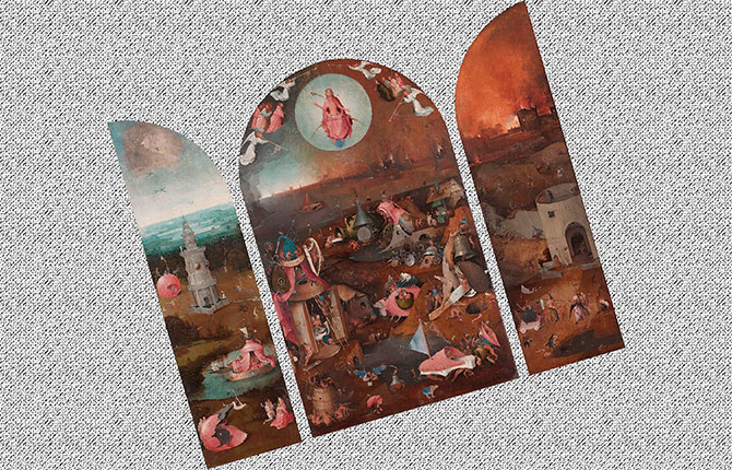 Триптих «Страшный суд», 1495 г.