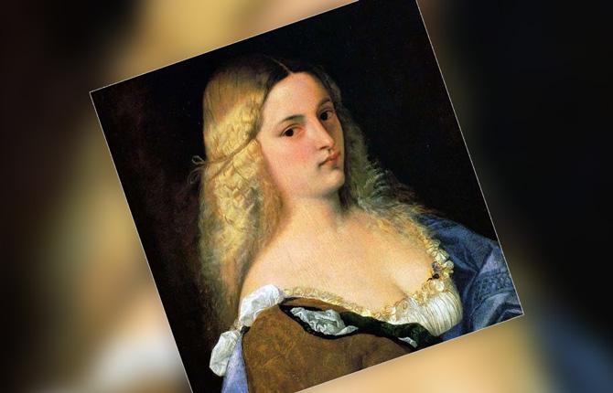 Виоланта портрет