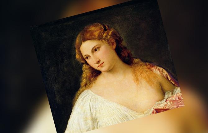 Жена Тициана Чичилия Сольдано
