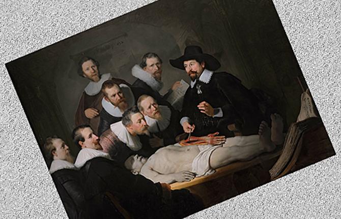 Картина Итальянская больница