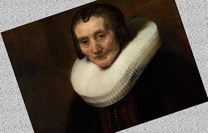 Портрет Маргарет де Гир