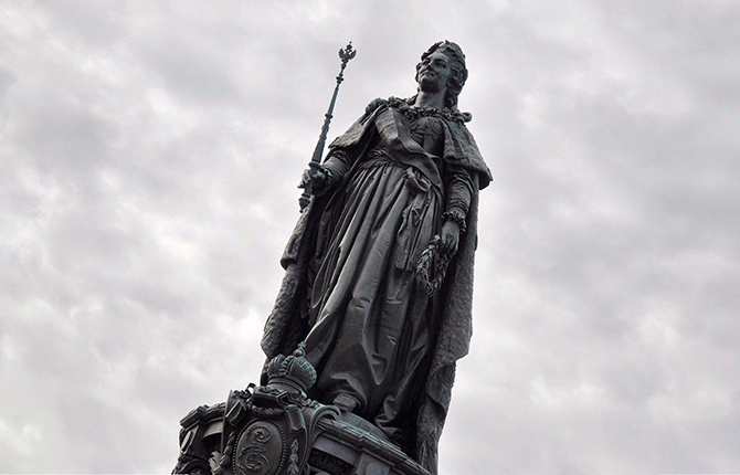 Памятник Екатерины 2
