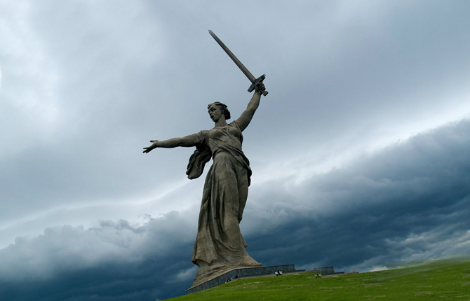 Скульптура «Родина-мать зовёт!», Волгоград
