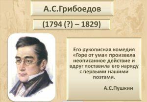 """А.С. Грибоедов """"Горе от ума"""""""