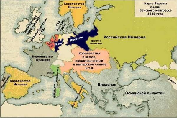 Зачем собирался Венский конгресс 1814-1815 гг и его итоги