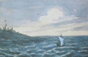 Стихотворение М.Ю. Лермонтова «Парус»