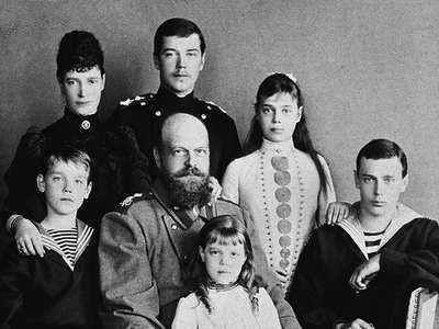 Павел 1 с семьей