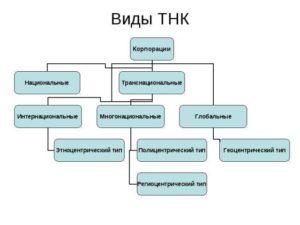 Виды ТНК