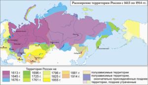 социально экономическое развитие россии в 17 веке